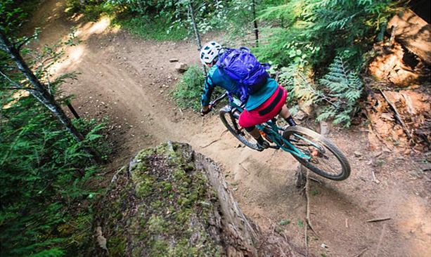 Freeride Mountain Biking in Post Canyon - Travel Oregon