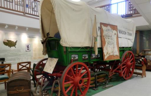 Visit the Polk County Museum in Rickreall to learn about the resilient pioneers who made the long and difficult journey on the Oregon Trail.