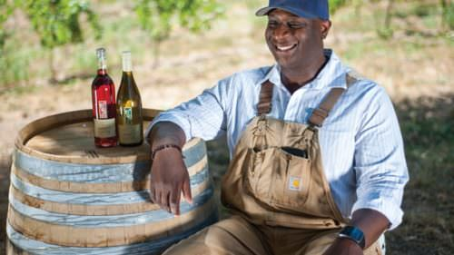 Bertony Faustin of Abbey Creek Vineyard wants to push boundaries in the wine industry. (Photo credit: Diego G. Diaz)