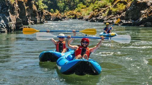 Eighty-four miles of the Rogue River is designated National Wild and Scenic due to its outstanding natural scenery and wildlife. (Photo credit: Nate Wilson / Northwest Rafting Company)