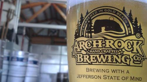 Just three and a half years after opening, Arch Rock Brewing has racked up five gold medals at prestigious national and international beer competitions. (Photo courtesy of Arch Rock Brewing)