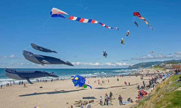 Make A Kite And See Some Of The World S Best Makers In Action At Lincoln City Festival Photo By Larry Andreasen
