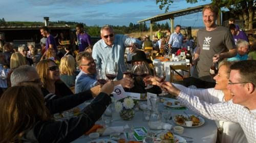 The Bounty of Yamhill County — a three-day food and wine event — showcases the best food, drink, farm fare and outdoor attractions of the region. (Photo credit: Andrea Johnson)