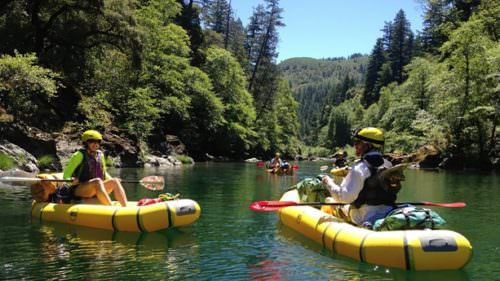The Chetco River stretches 55 miles from the Kalmiopsis Wilderness to the Pacific Ocean near Brookings. (Photo credit: Wilderness Canyon Adventures)