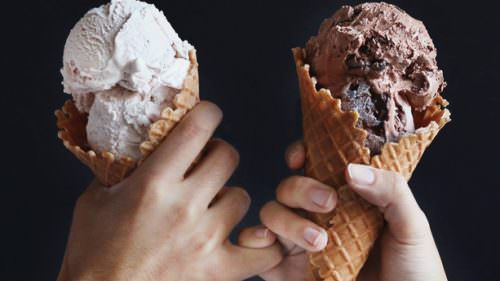 Made with real ingredients, Tillamook ice cream cones hit the spot any time of year.