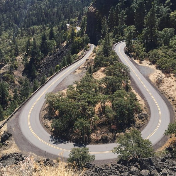 Rowena Crest Overlook, Columbia River Gorge, The Dalles, OR