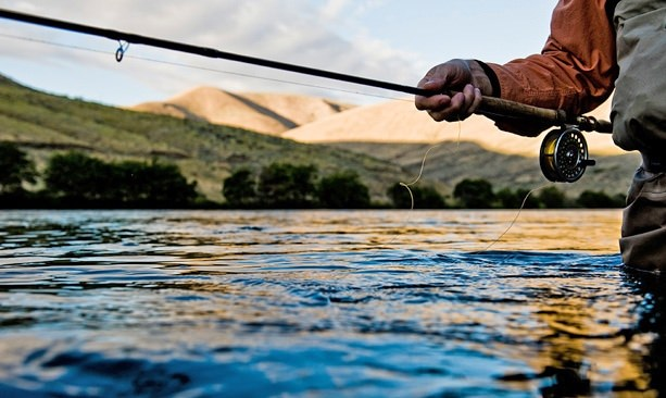 9b78f1e106 World famous for its trout and steelhead, Maupin — known as the gateway to  the Deschutes River — is all action in the fall. (Photo credit: Darcy  Bacha) ...
