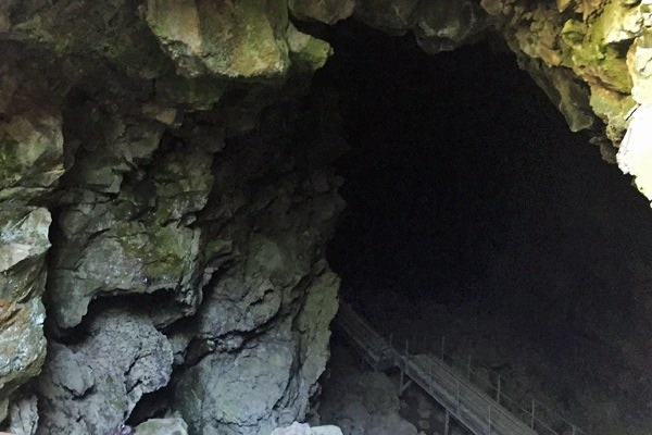 Entrance to Lava River Cave