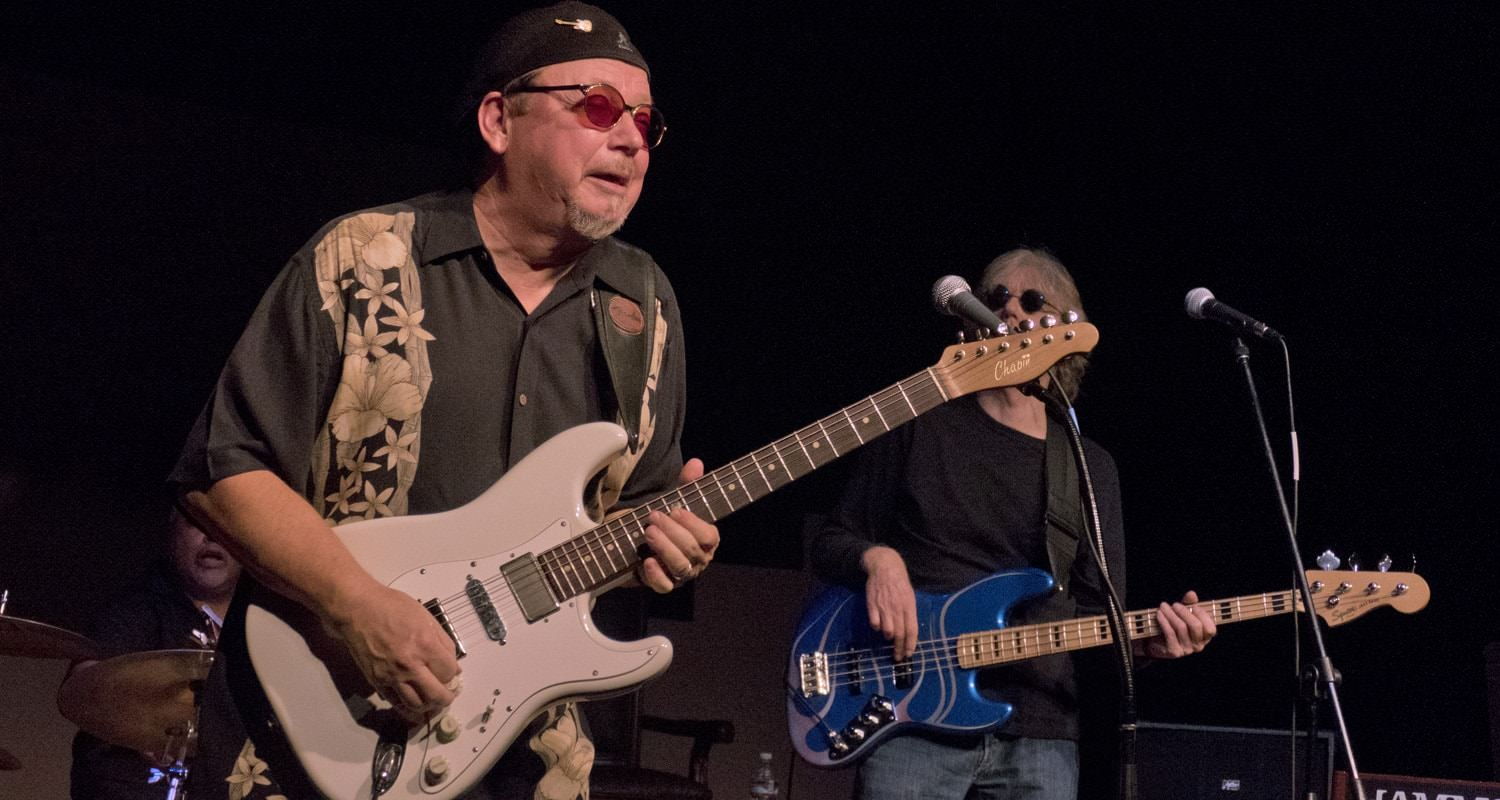 Journeyman blues artist and Oregon Music Hall of Fame member Lloyd Jones performs at the Spotlight Concert.
