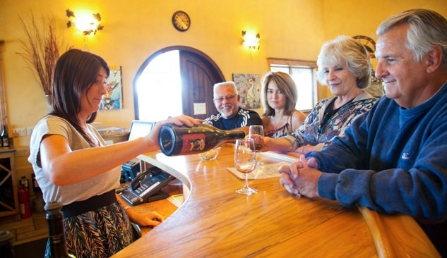 Sweet Cheeks Winery near Eugene