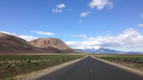 On the road to the Steens
