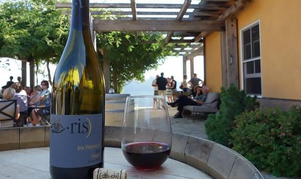 Iris Vineyards wine