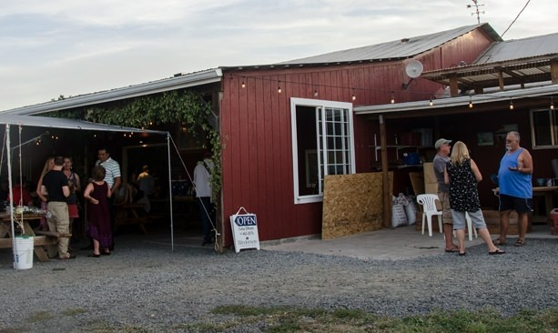 Agrarian Ales' beloved beer garden