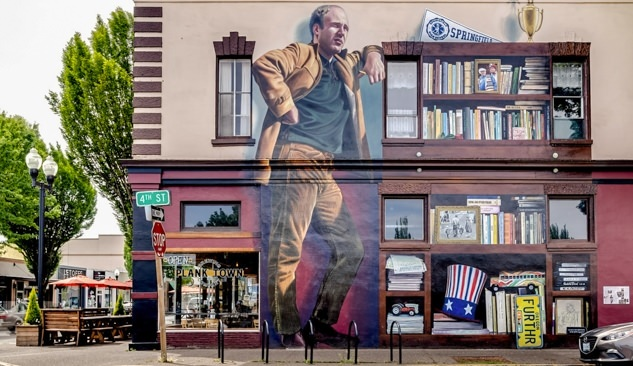 Kesey Mural at Planktown Brewing