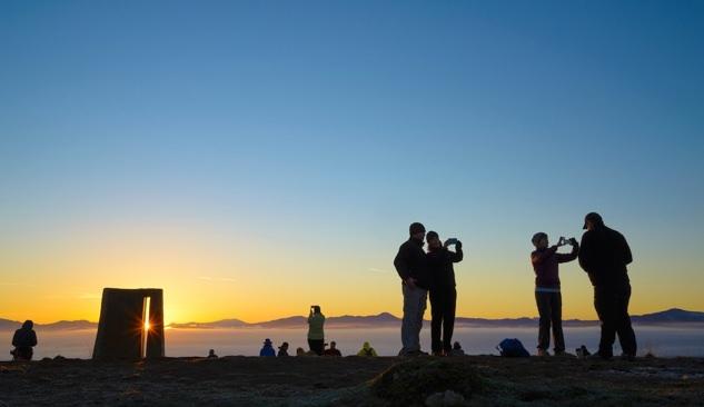 Mount Pisgah at sunrise