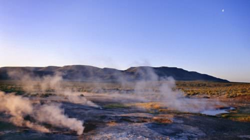 You'll need a map to find Mickey Hot Springs near the Alvord Desert. (Photo credit: Patrick Stoll / Idaho Stock Images)