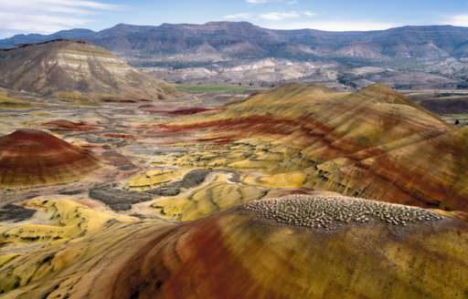 Painted Hills by Ric Ergenbright
