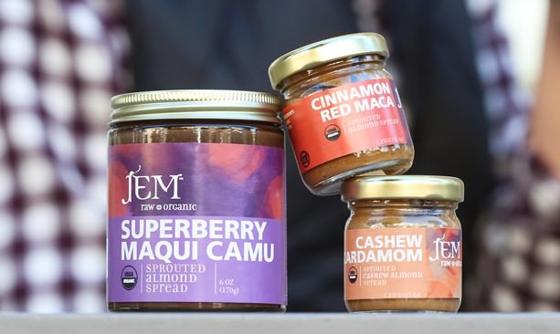 3 jars of Jem Nut Butters