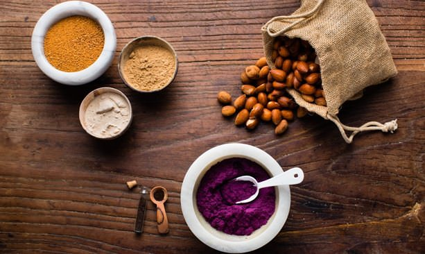 Ingredients for organic Jem Nut Butters