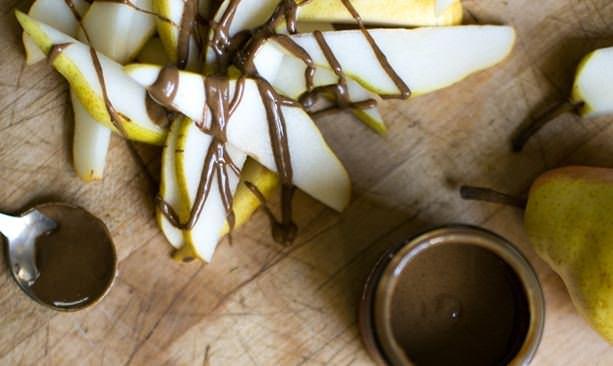 Jem Nut Butters spread on apple slices