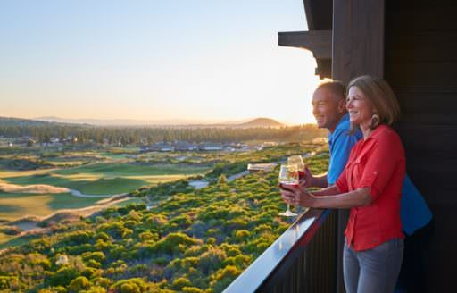 One of Central Oregon's newest resorts, Tetherow offers incredible views of the landscape, including Powell Butte and the Ochoco Mountains to the east.