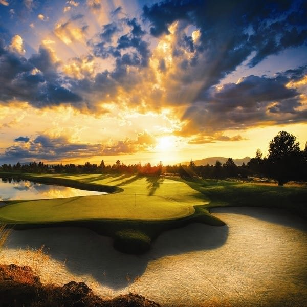 Jack Nicklaus course at Pronghorn Resort