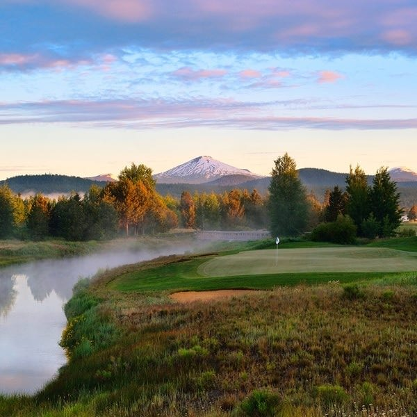 Crosswater golf course at Sunriver Resort
