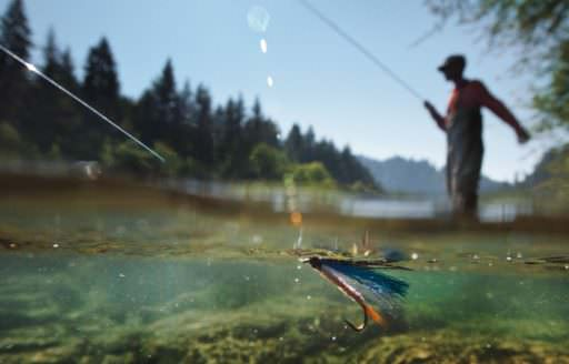 Fly fishing by Tyler Roemer