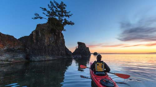It's easy to rent a kayak or other watercraft in Lincoln City and spend the day exploring.