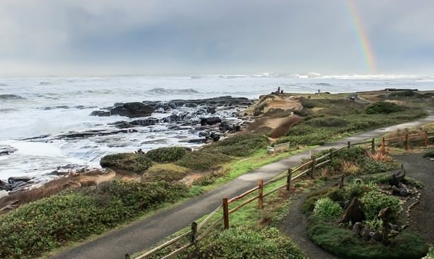 From Downtown Yachats Find Easy Access To The 804 Trail A 7 Mile Stretch That Follows Pristine Coastline
