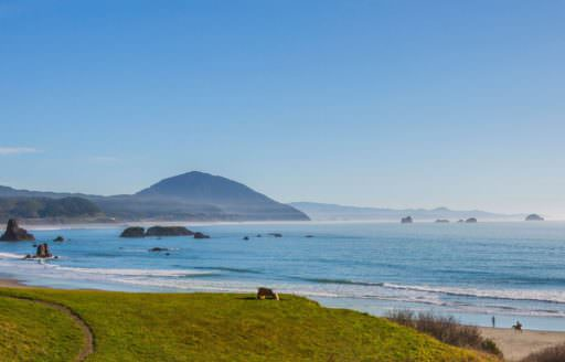 Battle Rock Park in Port Orford