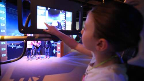 Kids of all ages get to interact with the engaging displays at the Columbia River Maritime Museum's new Science of Storms exhibit.