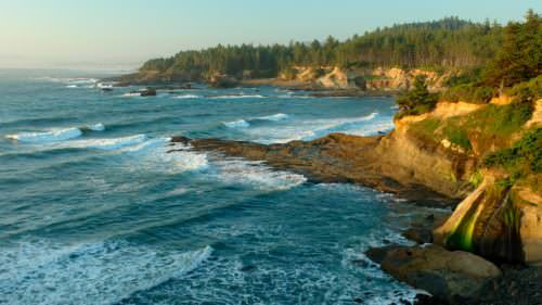 Boiler Bay State Scenic Viewpoint by Andre Jenny / Alamy Stock Photo