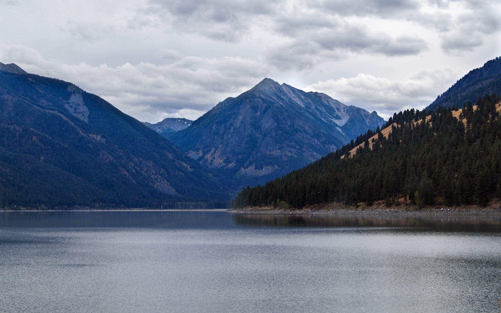 Wallowa Lake in autumn
