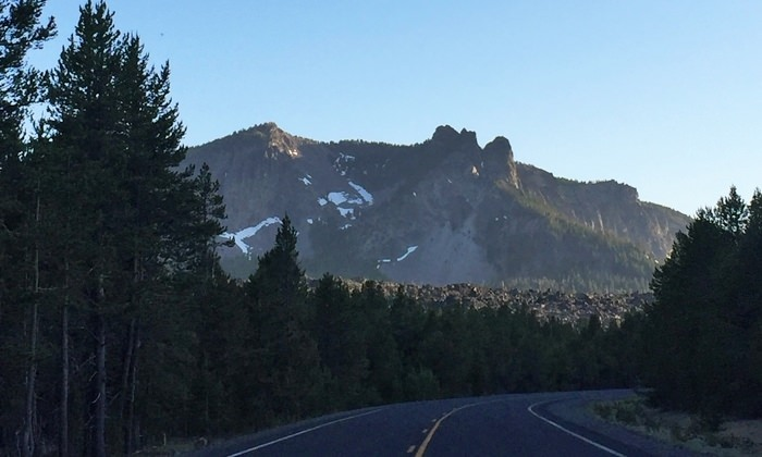 Paulina Peak from road