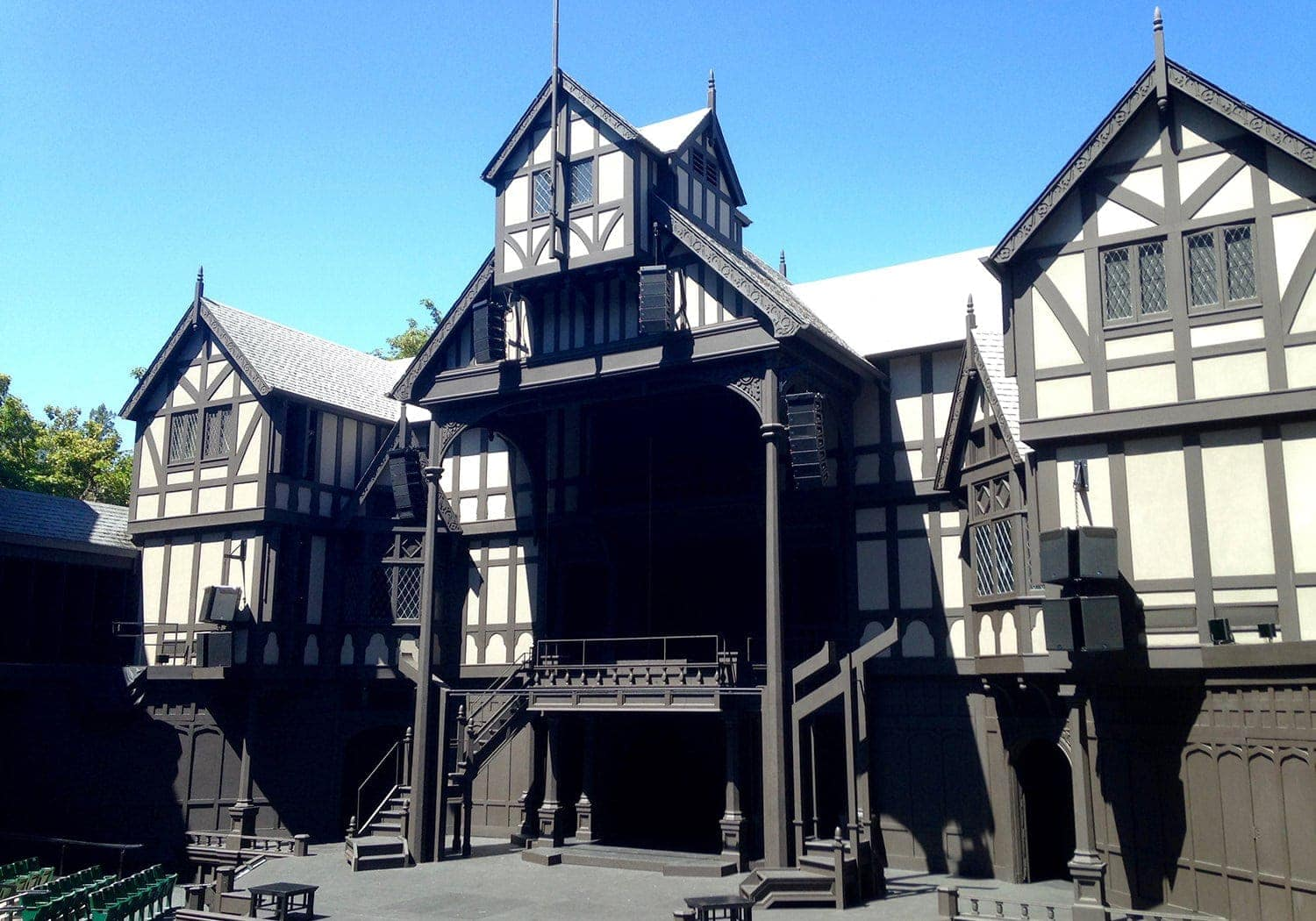 Allen Elizabethan Theatre at Oregon Shakespeare Festival