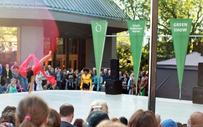 Green Show at Oregon Shakespeare Festival