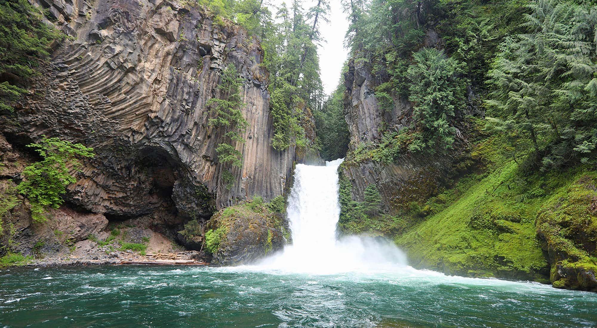 Tokatee Falls