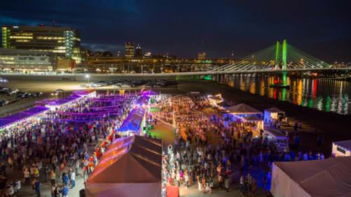 Feast Portland highlights the culinary talent and ingredients of the Pacific Northwest along with internationally recognized chefs and food artisans, with showstopping events like the Night Market to fun-sized workshops and talks. (Photo credit: Alan Weiner)