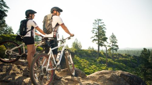 Sisters is a hotspot for mountain biking; set out onto the Peterson Ridge Trail System for 25 miles of single-track, just steps from FivePine Lodge and Spa.