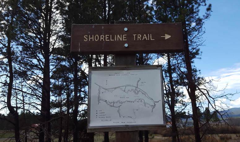 Phillips Reservoir Lake Shore Trail