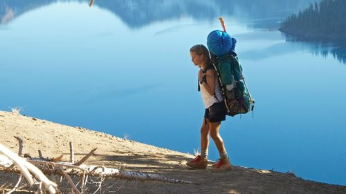 "Reese Witherspoon at Crater Lake in ""Wild"" by Fox Searchlight"
