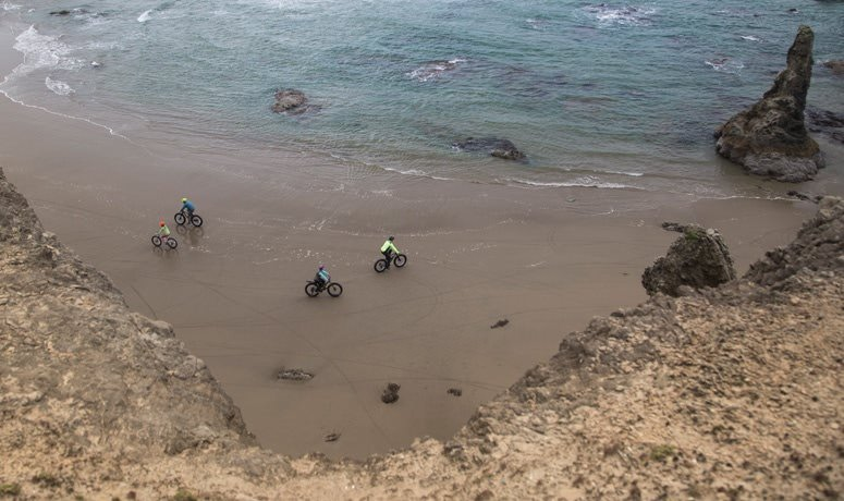 Bandon Fat Bike Beach Ride