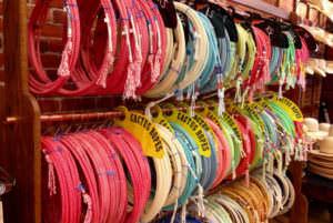 Ropes on display at Hamley & Co.