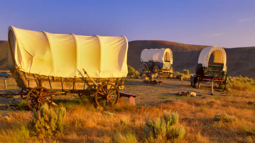 National Historic Oregon Trail Interpretive Center by Dennis Frates