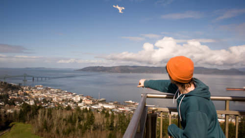 Astoria Column photo credit: Leah Nash