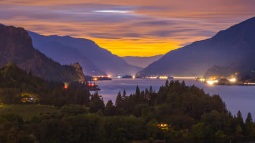 Columbia River Gorge by Blaine Franger