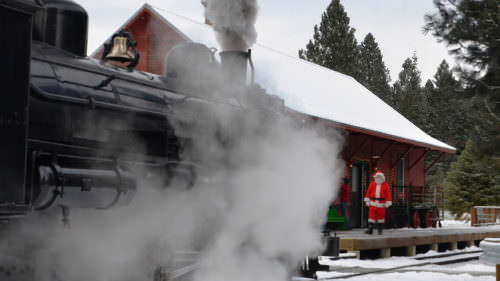 Sumpter Valley Railroad by Baker County Tourism
