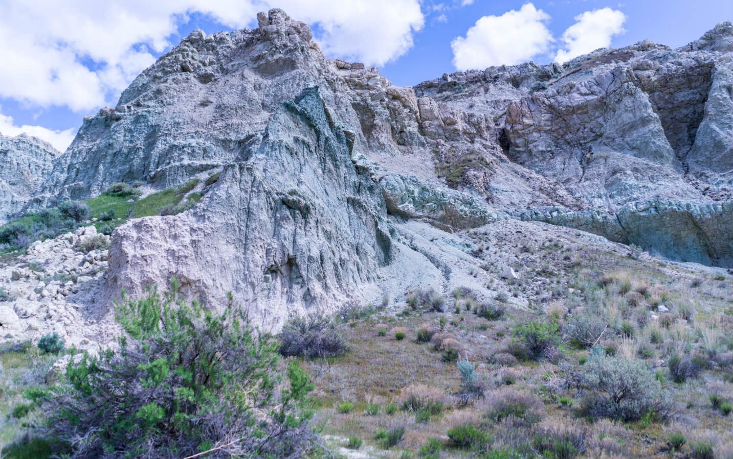 Sheep Rock in the John Day Fossil Beds