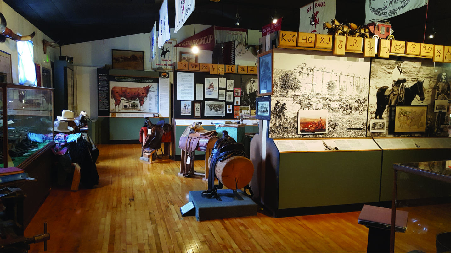 Interior of the Union County Museum
